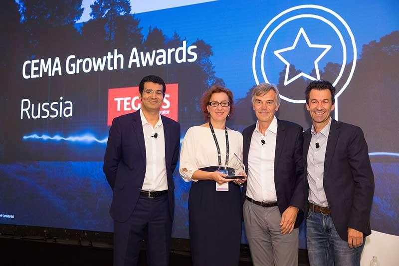 Компания TEGRUS названа «Партнером года» HP в рамках HP Reinvent