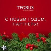 Компания Tegrus поздравляет вас с наступающими праздниками!